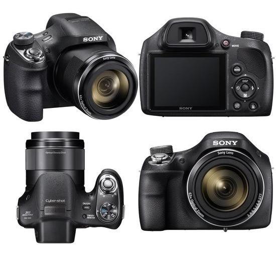 Câmera Sony Dsc - H400
