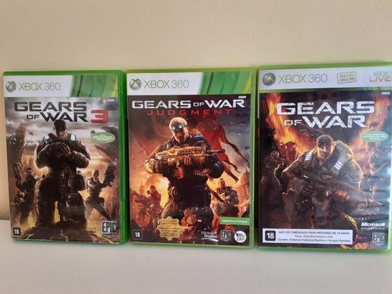 Gears Of War Xbox 360 Coleção Cib Frete Gratis 12x Sem Juros