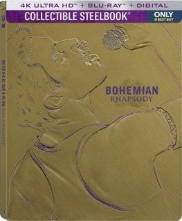 Blu Ray 4k Ultra Hd Bohemian Rhapsod Queen Steelbook Bestbuy