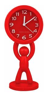 Reloj Despertador Hombrecito Vs Colores Super Promo!!