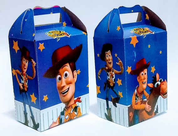 Woody 25 Cajas Dulceros Articulos De Fiestas.