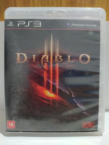 Diablo 3 Ps3 Original Mídia Fisica Em Português