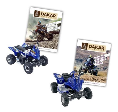 Imagen 1 de 10 de Libros + Coleccionables Dakar Cuatriciclos Yamaha 1 Y 2