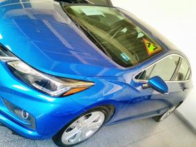 Chevrolet Cruze Premier 1.4l Turbo Color Azul Cobalto 2017