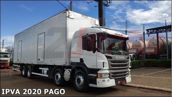 Scania P 310 4° Eixo 8x2 2014 *** Com Baú *** (ref.1259)