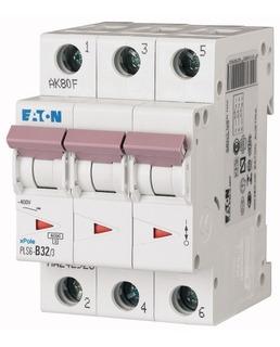 Pls6-b32/3-mw, Termomagnetico 32 Amps 3 Polos Tipo B Eaton