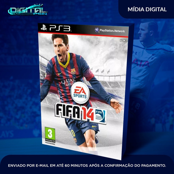 Fifa 14 Ps3 Psn Midia Digital Envio Hj!