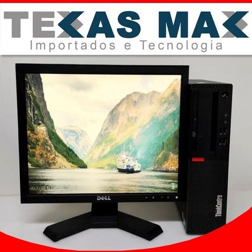 Imagem 1 de 9 de Cpu Lenovo +monitor 17+ M700 I5-6400 2.70 Ghz+ 4 Gb / Hd 500
