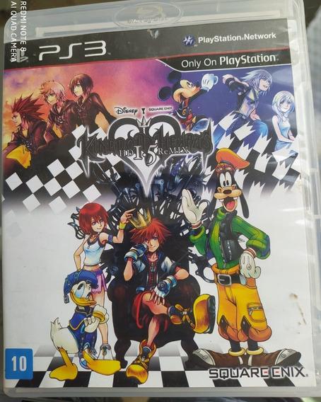 Jogo Kingdom Hearts 1.5 - Ps3