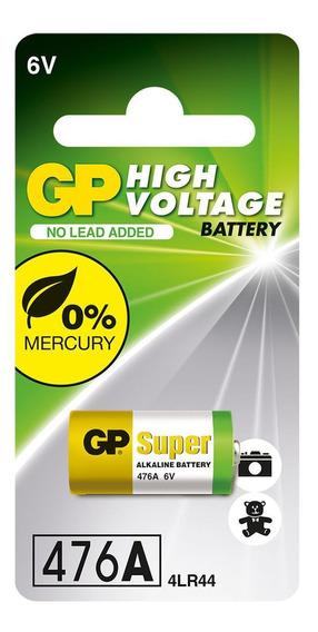 10 Pilhas Baterias 4lr44 / 910a 6v Alcalina Super Gp