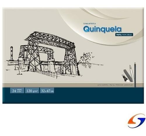 Block Dibujo Ledesma Quinquela 32x47cm Serviciopapelero