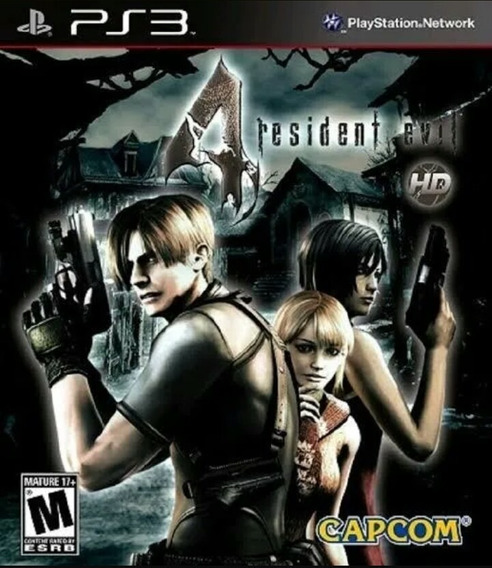 Resident Evil 4 Re4 Ps3 Playstation 3 Jogo Buy