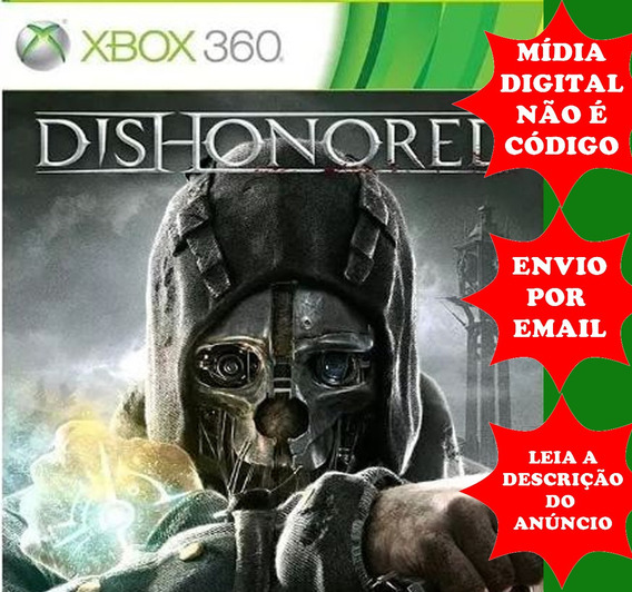 Dishonored Xbox 360 Mídia Digital