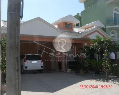 Casa Em Condomínio Para Venda Na Chácara Prado Em Campinas - Imobiliária Em Campinas - Ca00427 - 4830923