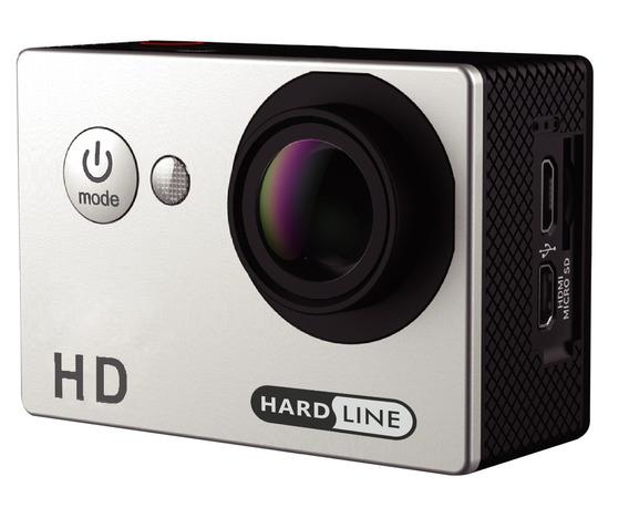 Camera Hd Action Hard Cam 720p Silver Promoção Top