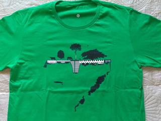 Camiseta Campo Cidade Mapa Rio Grande Do Sul 100% Algodão