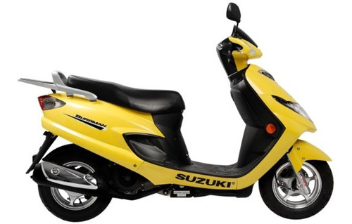 Moto Scooter Suzuki Burgman 125 2007
