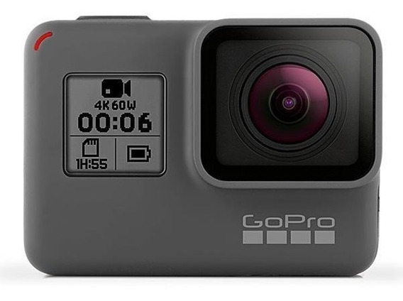 Câmera De Ação Gopro Hero 6 Black 12mp 4k