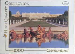 Rompecabezas 1000 Palacio Versalles París Francia Clementoni