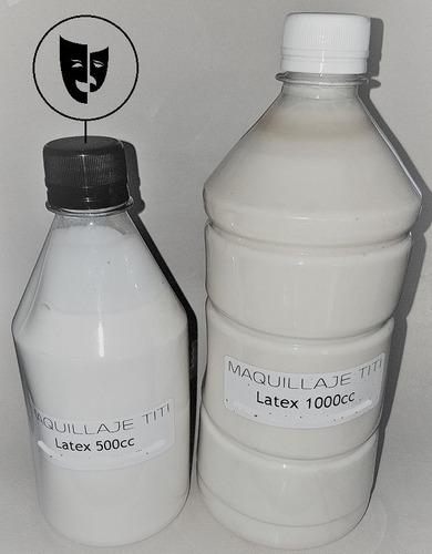 Imagen 1 de 1 de Latex Liquido Prevulcanizado Para Fx Maquillaje Titi 500cc