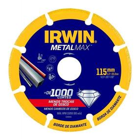 Disco De Corte Diamantado 4.1/2 115 Metalmax Irwin