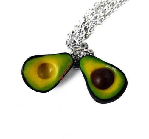 Imagen 1 de 2 de Collares Doble Aguacates Envio Gratis Cadenas Llavero Gratis