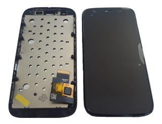 Display Frontal G1 Lcd Touch Moto G 1 Com Aro Testado Novo!