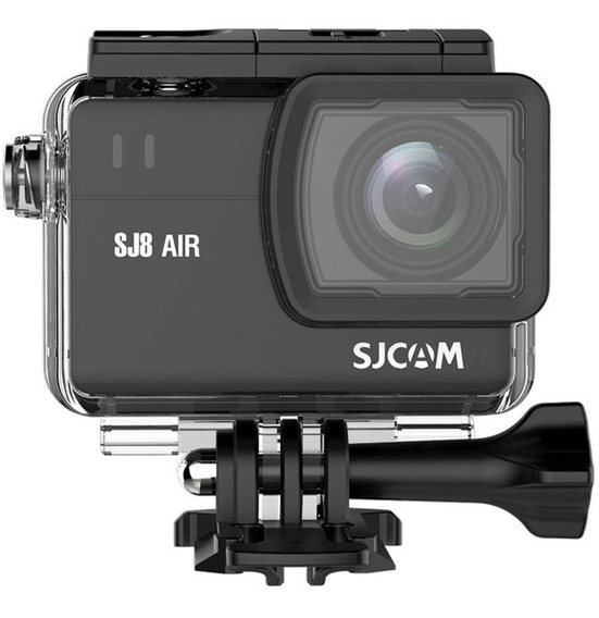 Câmera Filmadora Sjcam Sj8 Air Wifi Full Hd 1296p 14mp Preto
