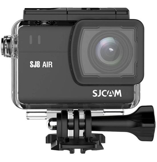 Câmera Filmadora Sjcam Sj8 Air Wifi Full Hd 1296p 14mp Preto