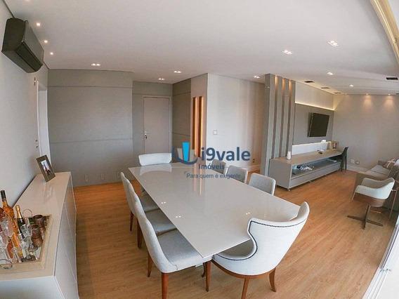 Lindo Apto De Luxo Porteira Fechada !apartamento Com 3 Dormitórios À Venda, 155 M² - Vila Ema - São José Dos Campos/sp - Ap2107