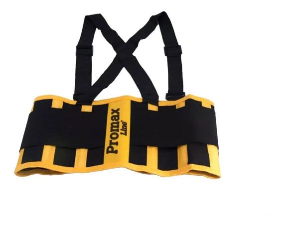 Faja Lumbar Trabajo Seguridad Tipo Pampero Ballenada Promax