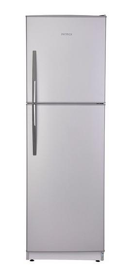 Heladera Con Extra Freezer 314 Lts Silver Patrick Hpk136s01