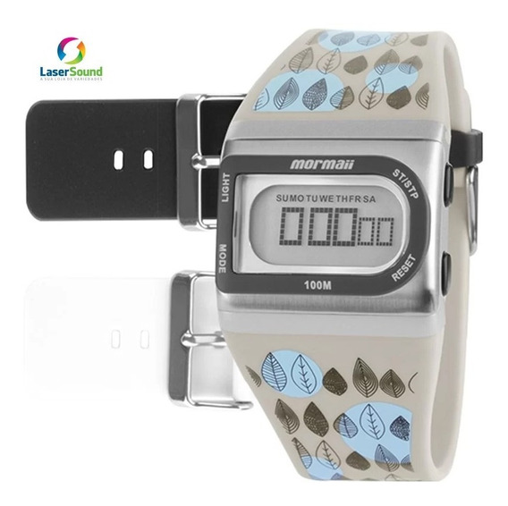 Relógio Mormaii Troca Pulseiras Fzi/8b C/ Garantia E Nf