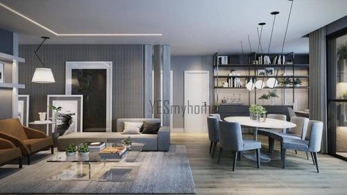 Apartamento Com 2 Dormitórios À Venda, 72 M² Por R$ 773.600,00 - Centro - Curitiba/pr - Ap3634