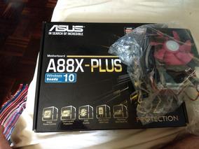 Kit Placa Mãe A88x - Plus + Proc A8 6500 + Cooler Blizza T2