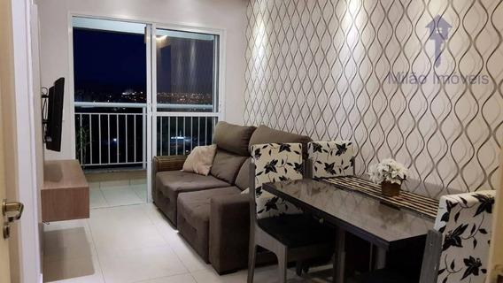 Apartamento Com 2 Dormitórios À Venda, 54m², Condomínio Vista Garden, Jd. São Carlos Em Sorocaba/sp - Ap0891