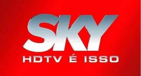 Habilitação Sky Pre Pago Para Todo Brasil Com Globo E Sbt.