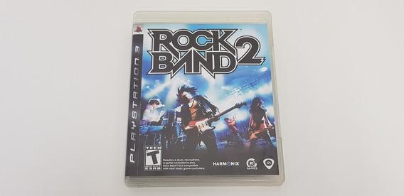 Jogo Rock Band 2 - Ps3 - Original - Midia Física