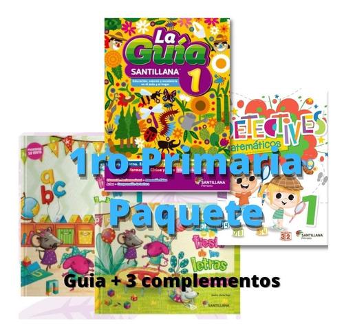 Imagen 1 de 6 de La Guía Santillana 1er Grado Primaria Oficial