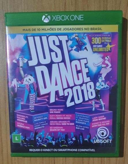 Just Dance 2018 - Xbox One - Mídia Física Em Ótimo Estado !!
