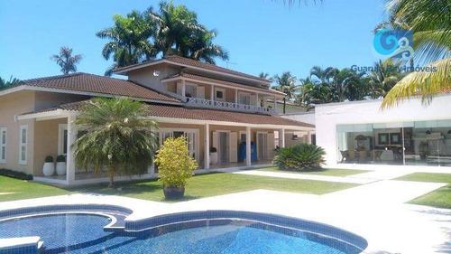 Imagem 1 de 30 de Casa Com 4 Dormitórios À Venda, 500 M² Por R$ 2.900.000 - Jardim Acapulco - Guarujá/sp - Ca1819