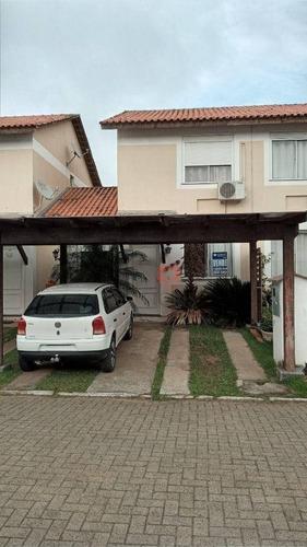 Imagem 1 de 30 de Sobrado Com 3 Dormitórios À Venda, 90 M² Por R$ 299.000,00 - Santa Cruz - Gravataí/rs - So0465