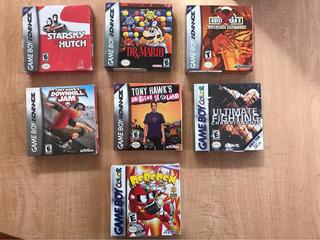 Lote De Juegos Gameboy Advance Y Color Originales Y Sellados