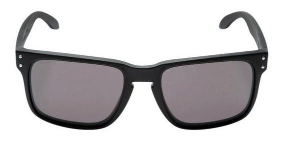 Óculos De Sol Masculino Preto Com Lente Polarizada Original