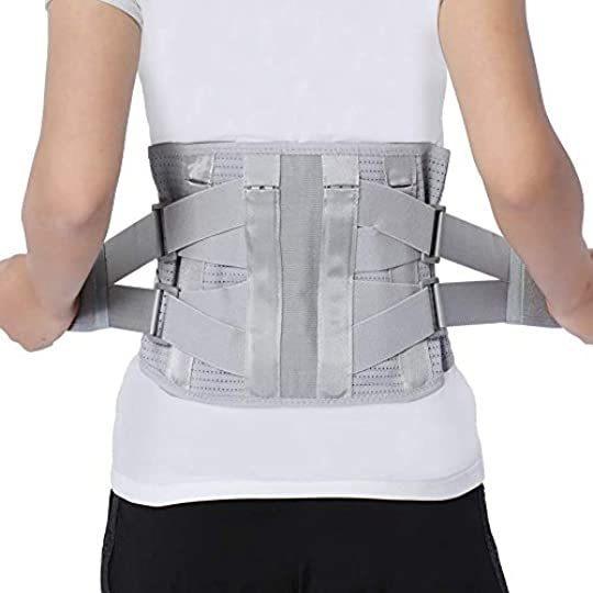 Faja Lumbar Hombres Mujeres Cinturón Apoyo Lumbar Compresión