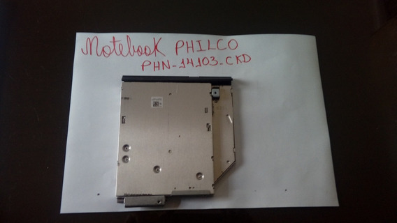 Gravador De Cd/dvd Para Notebook Philco Phn-14103-ckd