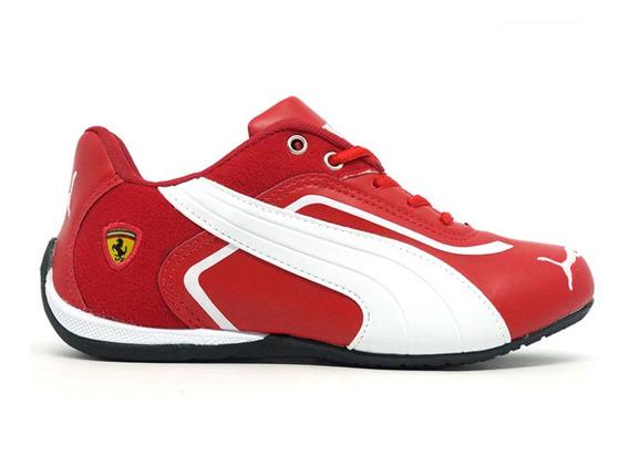 Kit 2 Ténis Puma Ferrari New