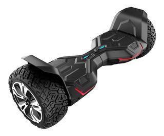 Skate Elétrico Hoverboard Dropboards Gyroor - Preto