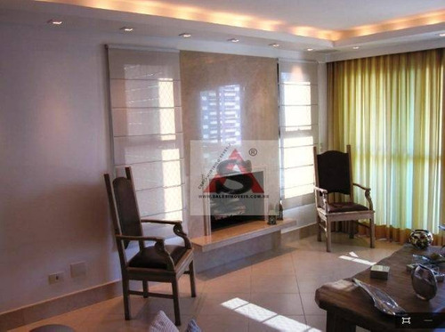Apartamento Com 4 Dormitórios À Venda, 225 M² Por R$ 2.100.000,00 - Jardim Vila Mariana - São Paulo/sp - Ap32923