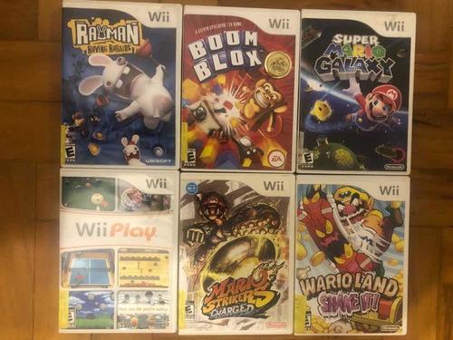 Jogos De Wii- Usados Em Ótimo Estado 85 Reais Cada